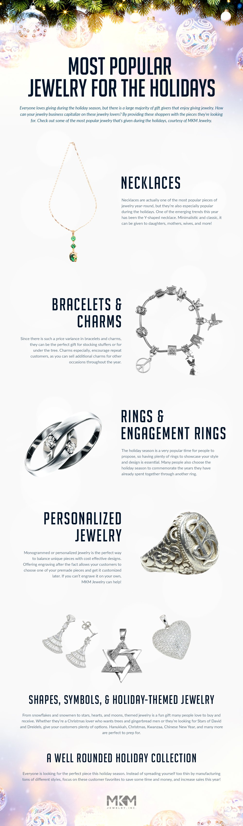 Most Popular Jewelry for the Holidays