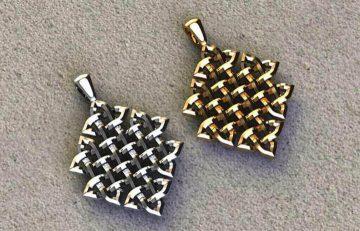 Weave Design Pendants